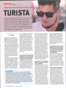 Pedro Restuccia en Revista Caras y Caretas